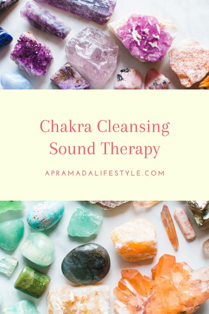 how to cleanse your crystals with sound