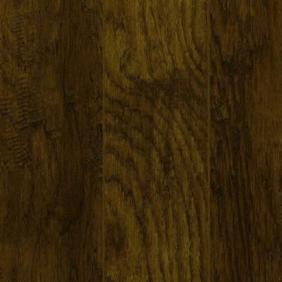 Home decorators collection hand scraped tanned hickory 12 mm thick x 5 28 in wide