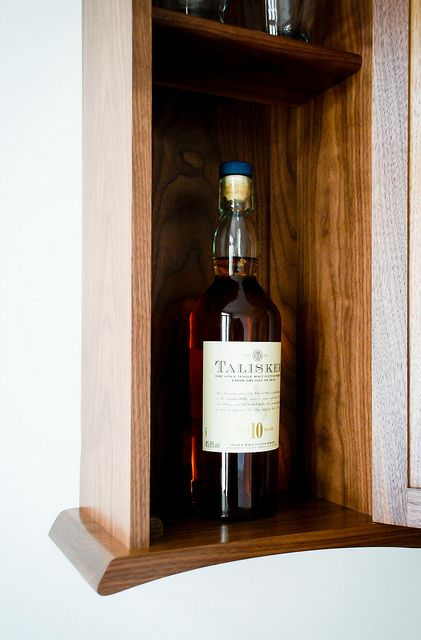 Whisky Cabinet By Claire Sutton, Via Flickr