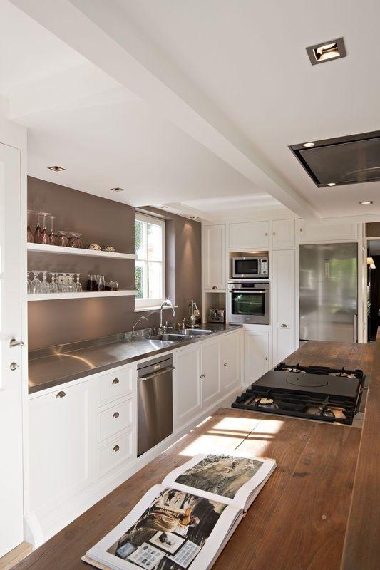 La DecoBelge Fabricant El Lefébien Woods And Kitchens - Amenagement cuisine en longueur