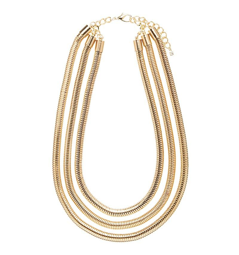 Anika 3 Layer Chain Necklace - Forever New