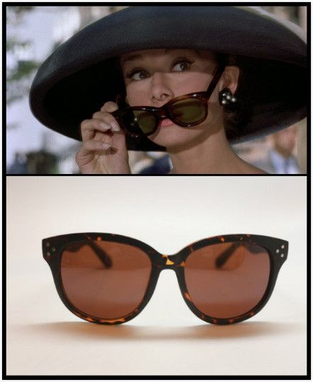 6a373bc6c73c Audrey Hepburn Breakfast at Tiffany s Sunglasses. I m gonna need these  please and thank you!