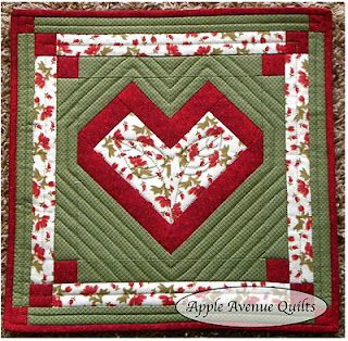Free 2012 Block of the Month from Apple Avenue Quilts