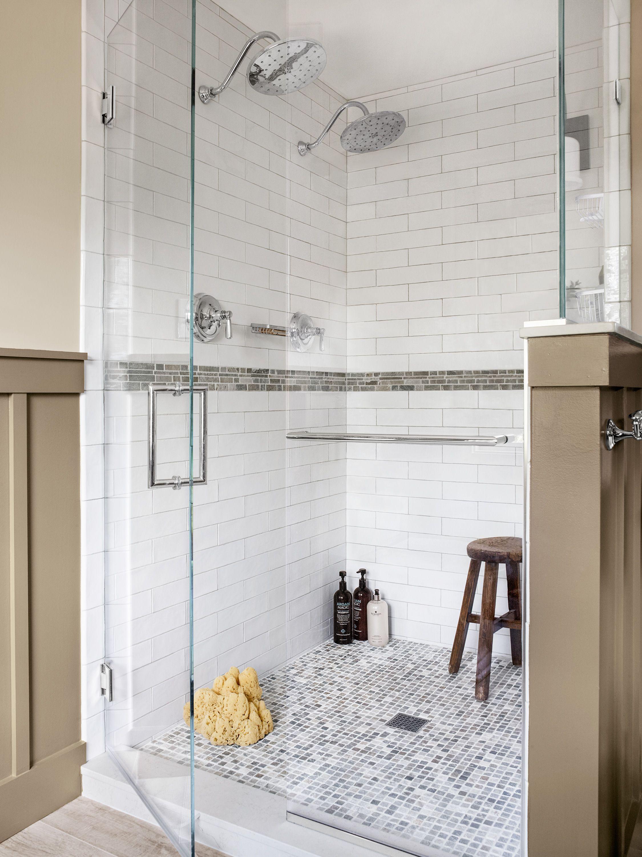 Bath Before And After Same Size Standout Style Fiberglass Shower Stalls Room Tiles Diy Bathroom Remodel