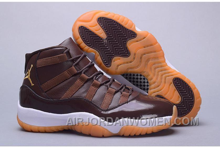 fce5275000de9 Air Jordan 11 Hamilton Chocolate Gum For Sale Azy6i