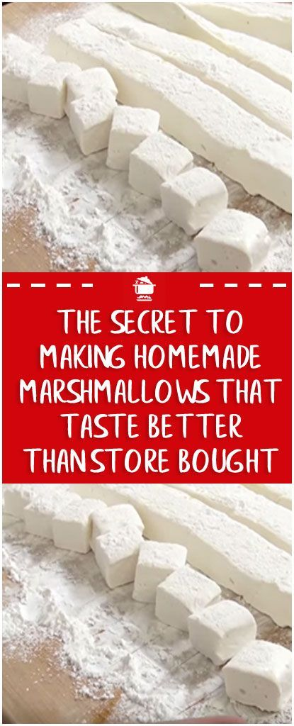 The Secret to Making Homemade Marshmallows That Ta... - #homemade #Making #Marshmallows #Secret #Ta #marshmallows