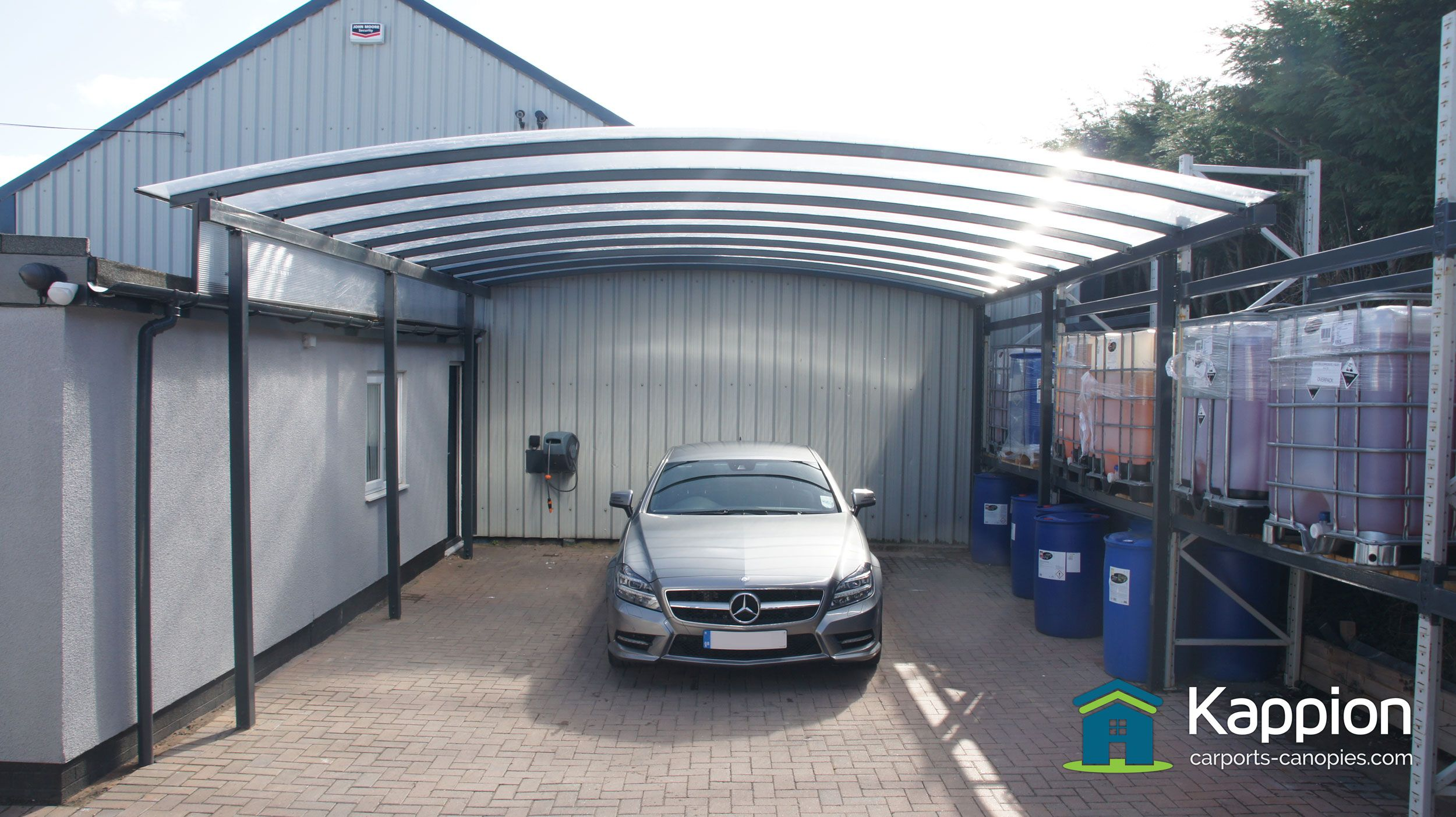 The Ultimate car detailing carport canopy protection
