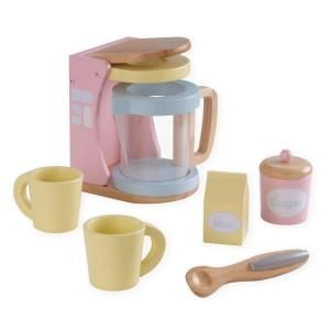Kidkraft Pastel Coffee Play Set 63307 At The Home Depot Christmas
