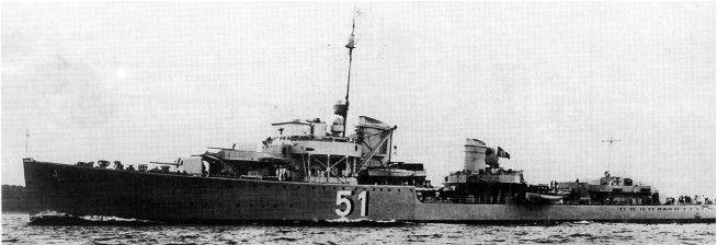 German destroyer Z17 Type 1936 Diether von Roeder. (google.image) 8.17