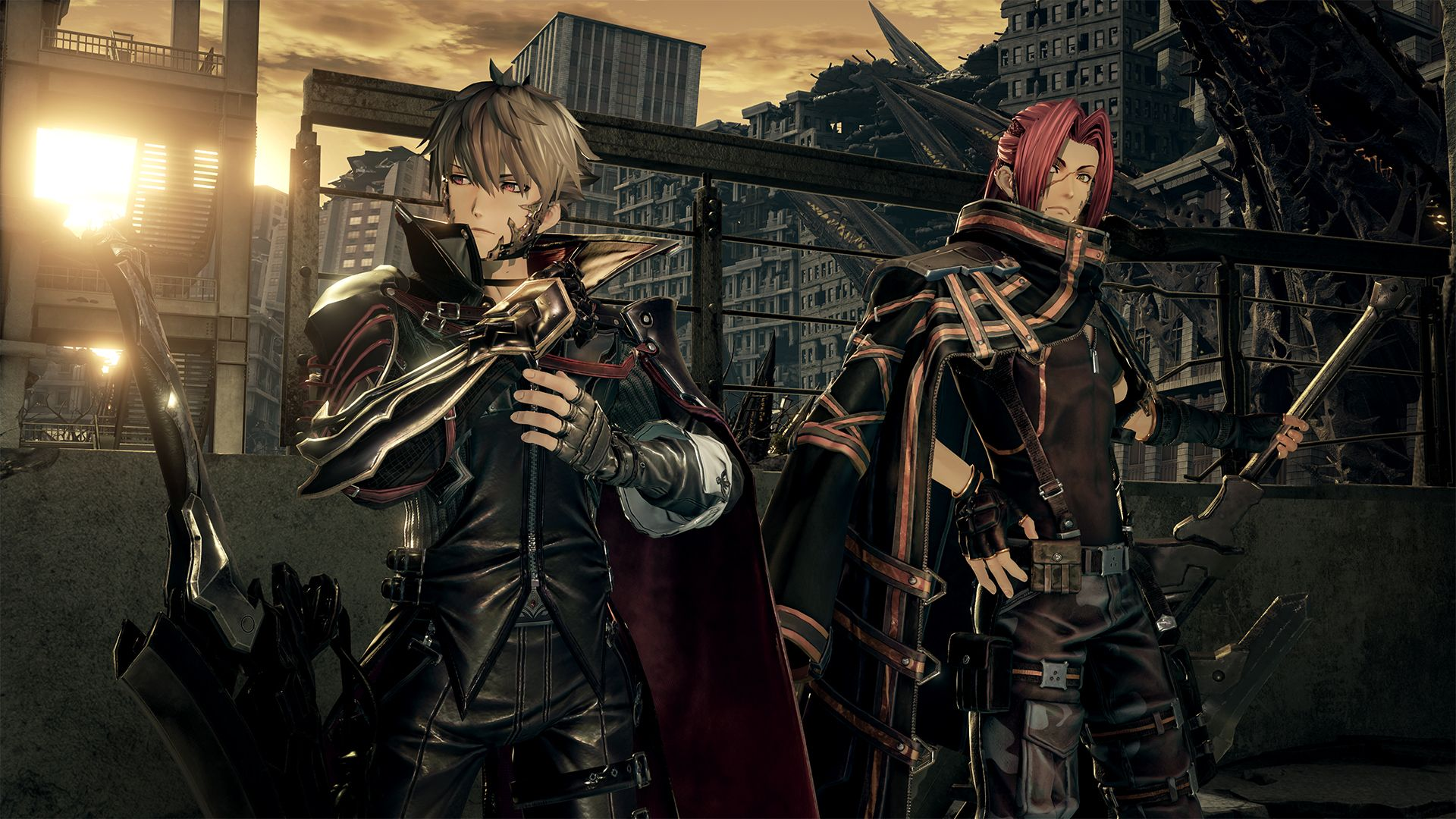 See The First Screenshots From Code Vein Bandai Namco S New Action Rpg Pc Gamer Code Vein Veins Coding