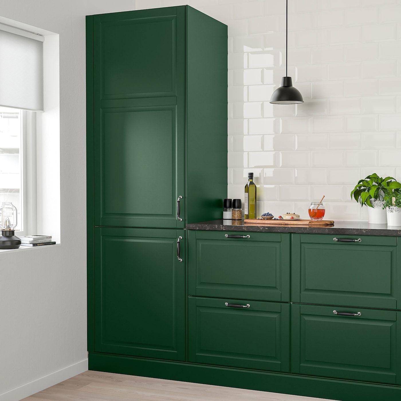 Best Ikea Bodbyn Dark Green Door In 2019 Dark Green Kitchen 400 x 300
