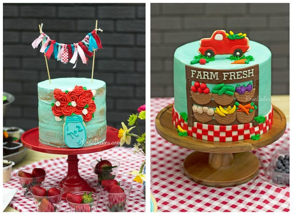 Strange Farmers Market Birthday Party Cakes This Party Is For A Joint Funny Birthday Cards Online Inifodamsfinfo