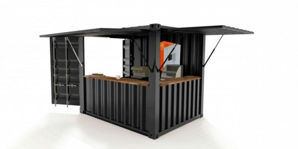 Shipping Container Bars Cafes And Catering Units Desain Rumah Desain Restoran