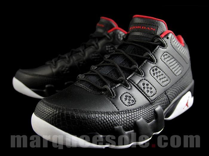 jordan retro 9 black and red