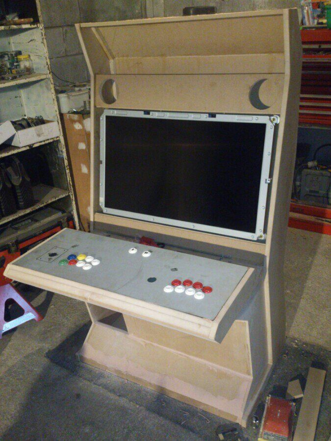 Mame Cabinet Arcade Cabinet Parts Australia Mame Cabinet Plans 4 Player  Mame Cabinet Diy Search Results Vewlix At Aaronactive And Homemade Vewlix Lu2026