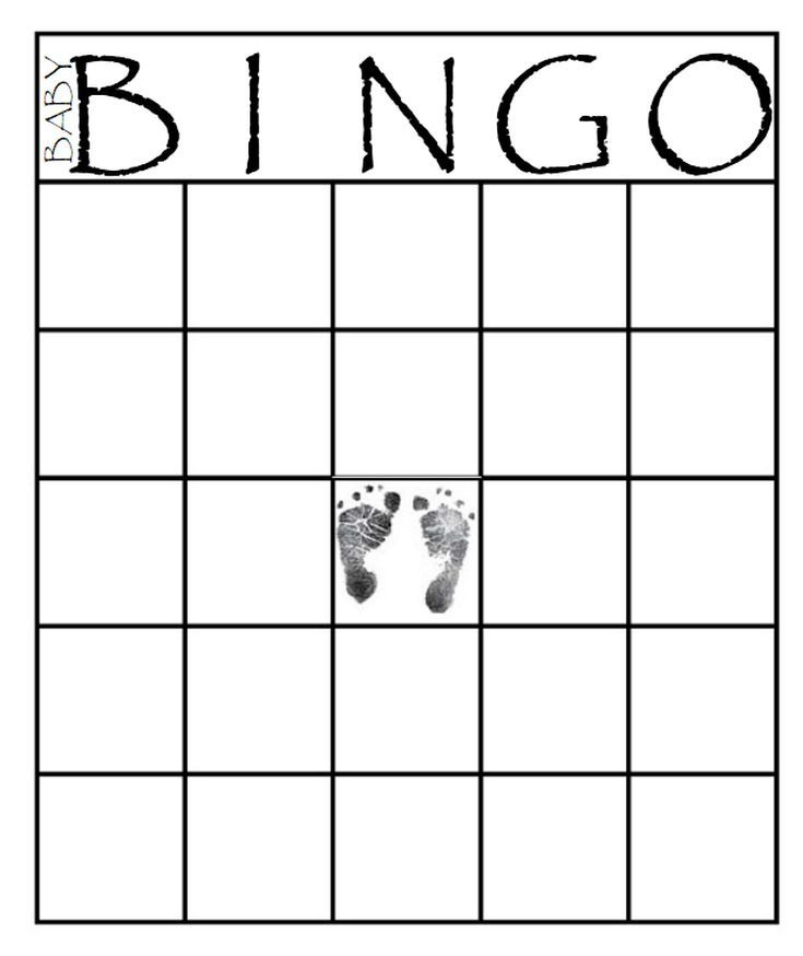 Free Baby Shower Bingo Cards Your Guests Will Love Baby Shower Bingo Bingo Card Template Easy Baby Shower Games