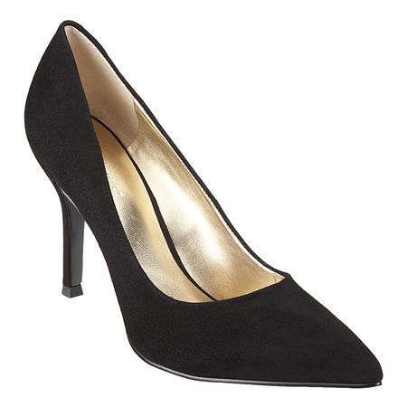 Nine West Flax black suede pump - love this, but they are out of my size!