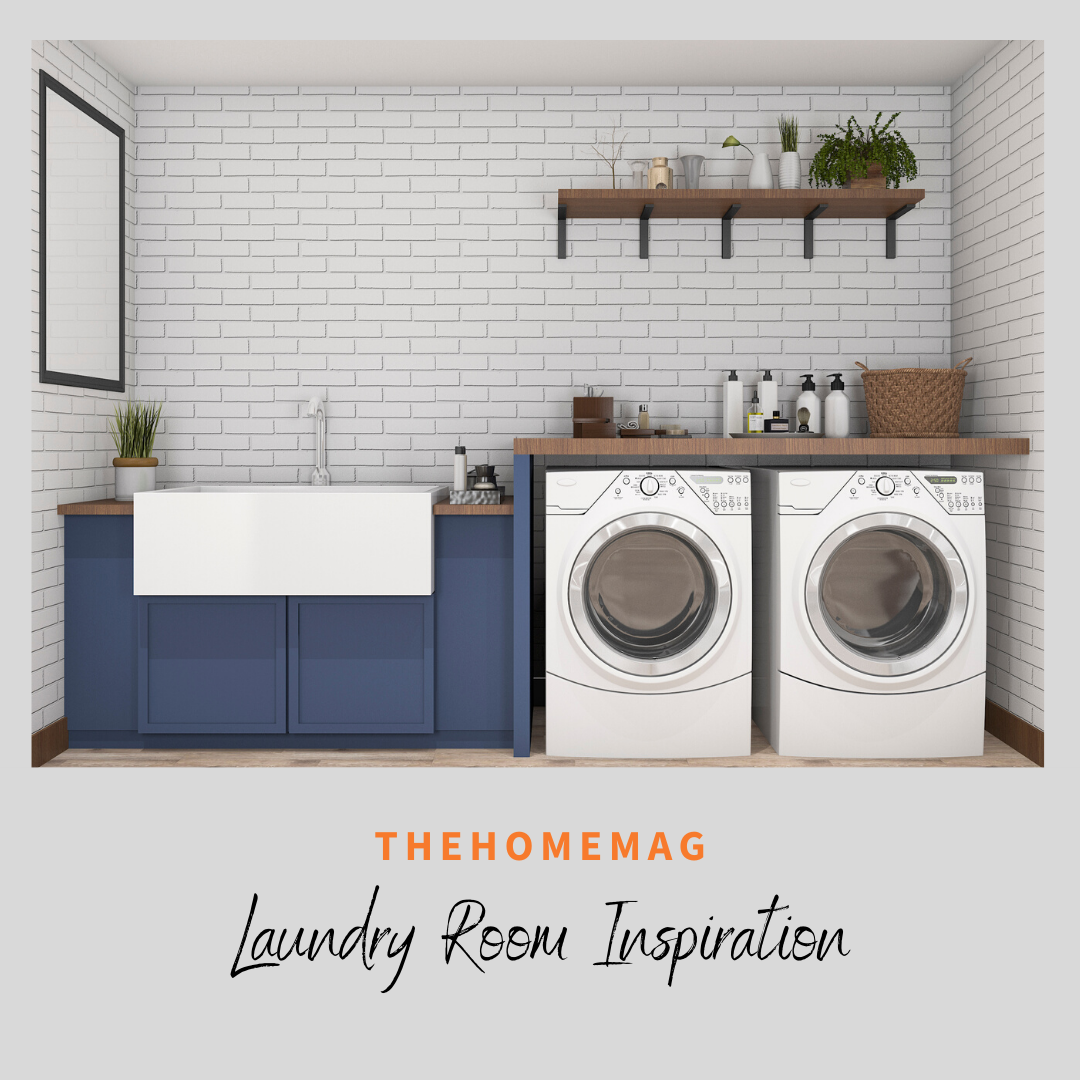 Where do you find inspiration for your dream spaces? TheHomeMag is a leading source for local contractors that will make your dream spaces come to life! We love these blue cabinets inside of this laundry room. . . . . .  #homedesigning #homedecoration #homeideas #homeimprovement #homestyling #hometrends #instahome #thehomemag #TheHomeMagUt #utahhomemag #supportsmall #supportutah #utahlocalbusiness
