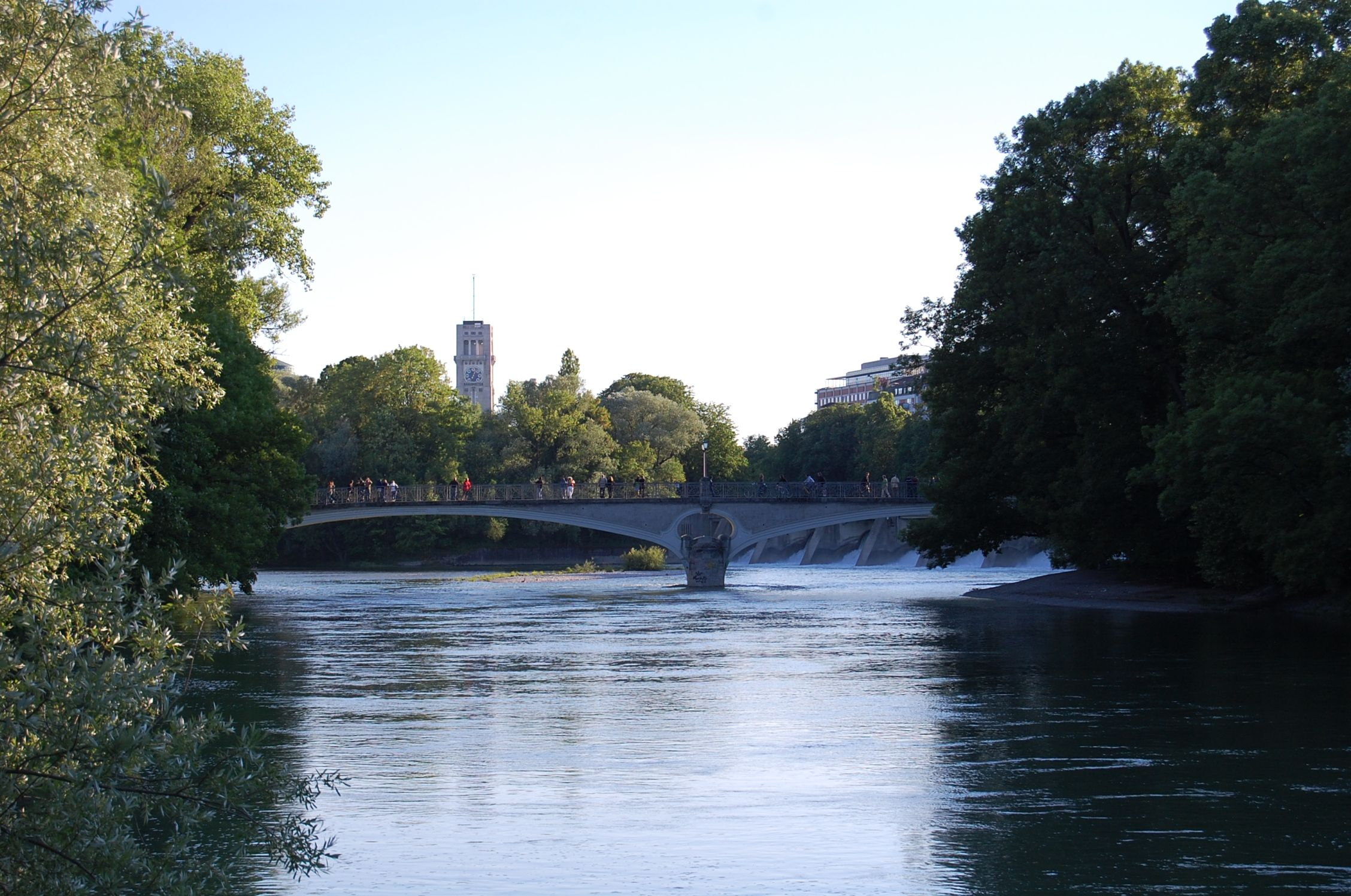 Enjoy a walk at the river Isar in the city center. Close to the Maxmonument, there are nice passways along the river where you have a nice view over the water and parts of the city center. Google Map of all DrupalCon Munich hot spots: http://g.co/maps/4hxqf