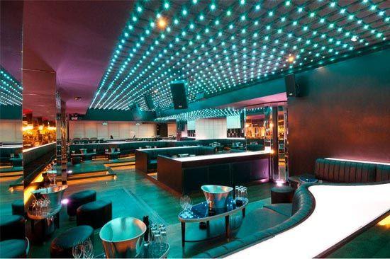 Bar Interior Led Lights Green