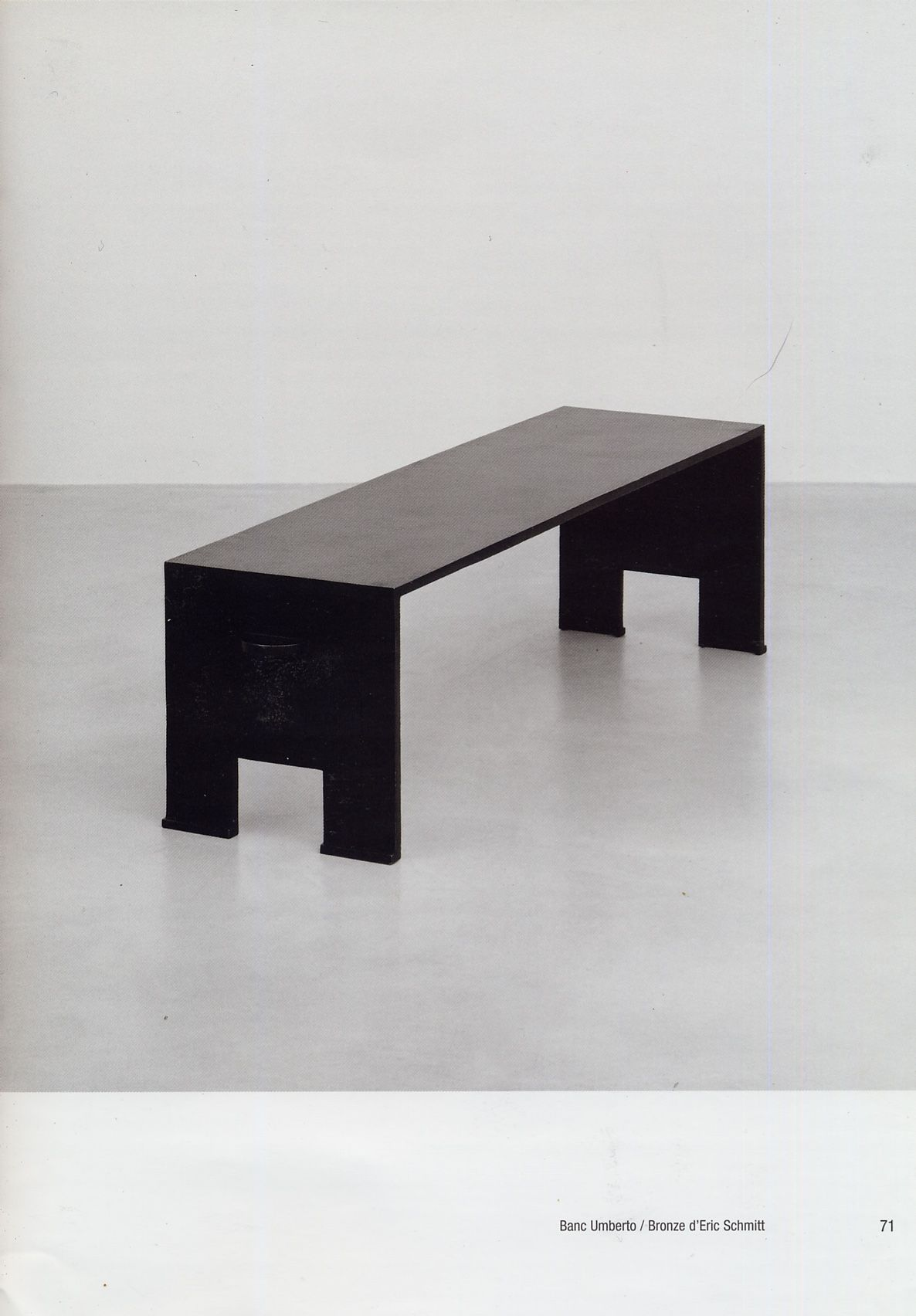 Eric Schmitt For Christian Liaigre coffee table \