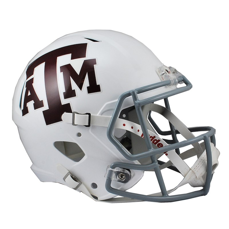 Fanatics Authentic Riddell Texas A M Aggies Revolution Speed White Replica Football Helmet Football Helmets Helmet Football