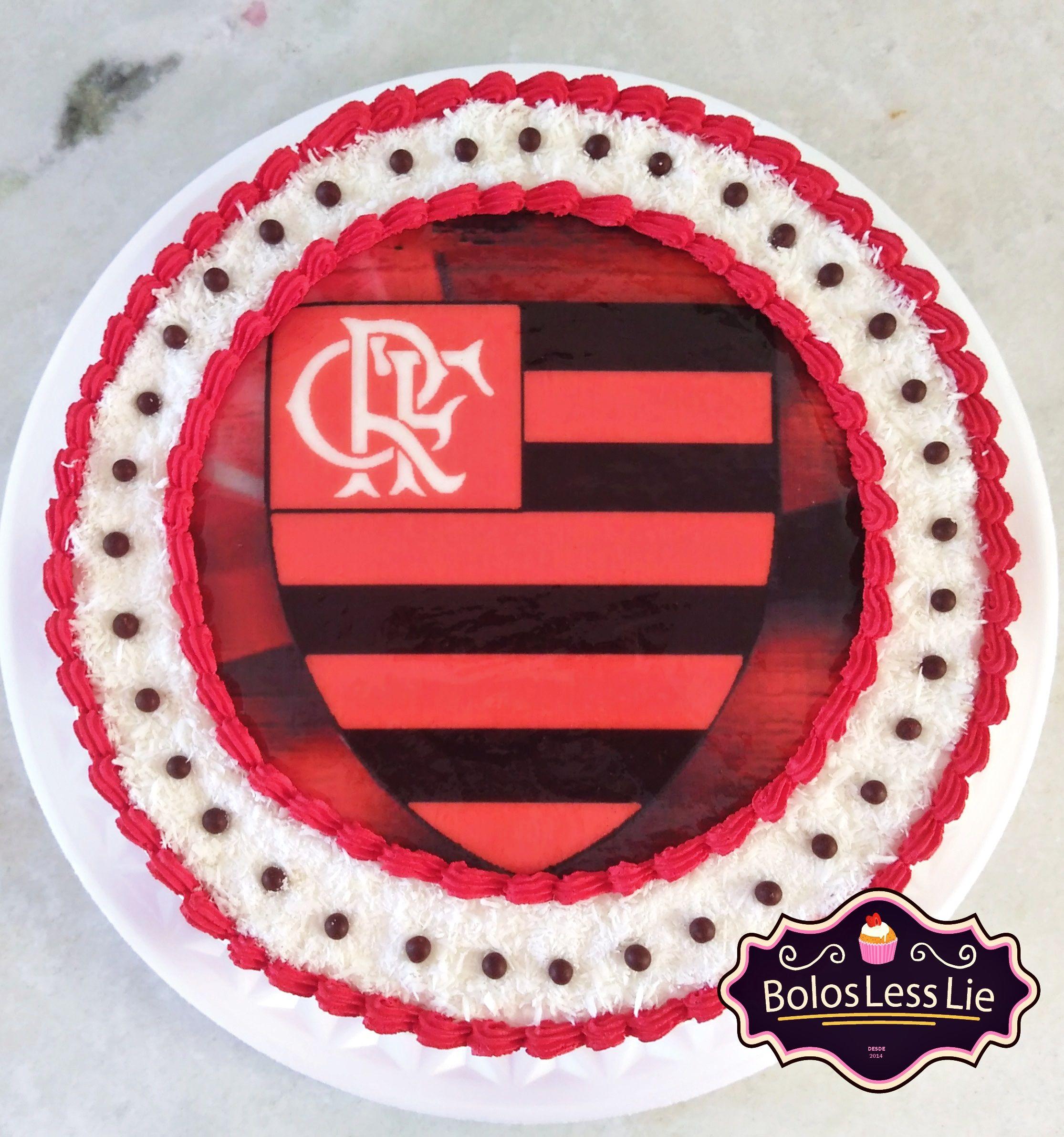 Bolo Do Flamengo Chantilly Bolo Bolo De Chantilly Chantilly
