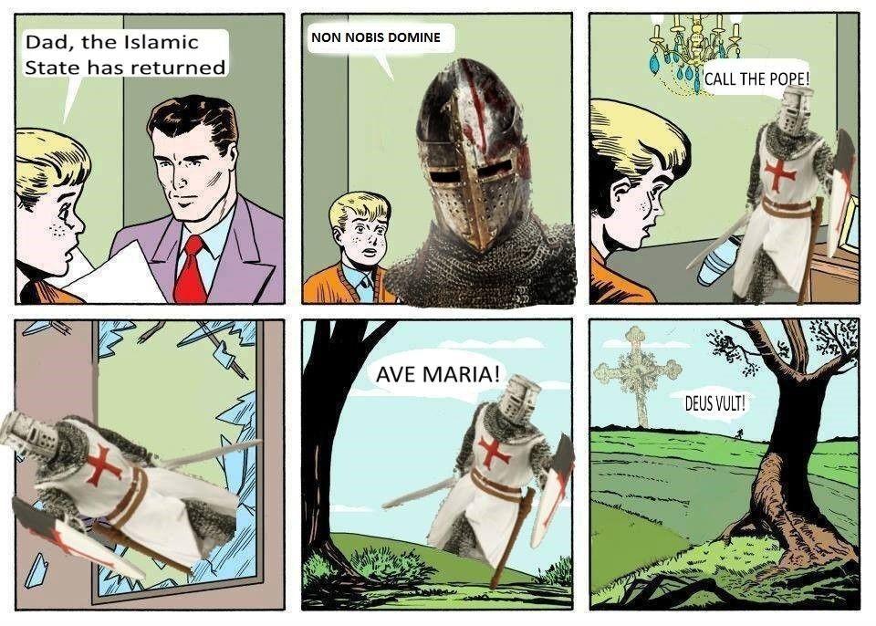 55b06ef20ee608d4b7f888b24a48661f deus volt! (not actually) crusade memes pinterest memes