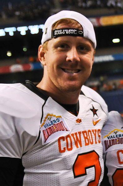 Brandon Weeden - Oklahoma State Cowboys! | Brandon weeden, Major ...