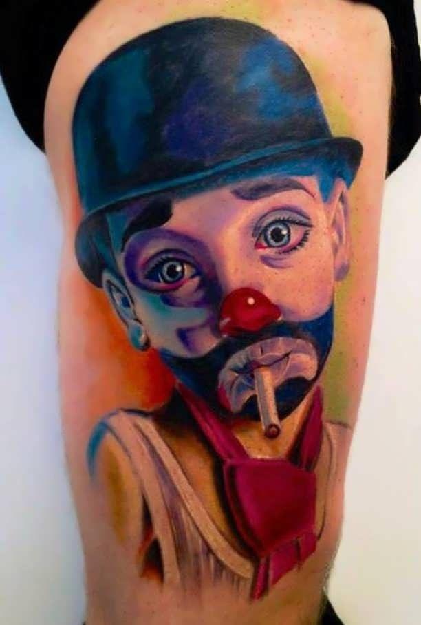 Pin De Marys En Tatuajes Tatuajes Y Payasos