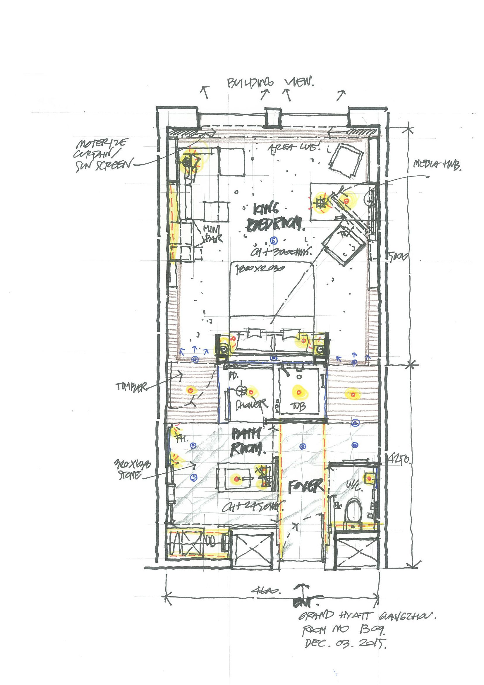 Sketch Plan Floor Plan Design Hotel Room Plan Hotel Floor Plan