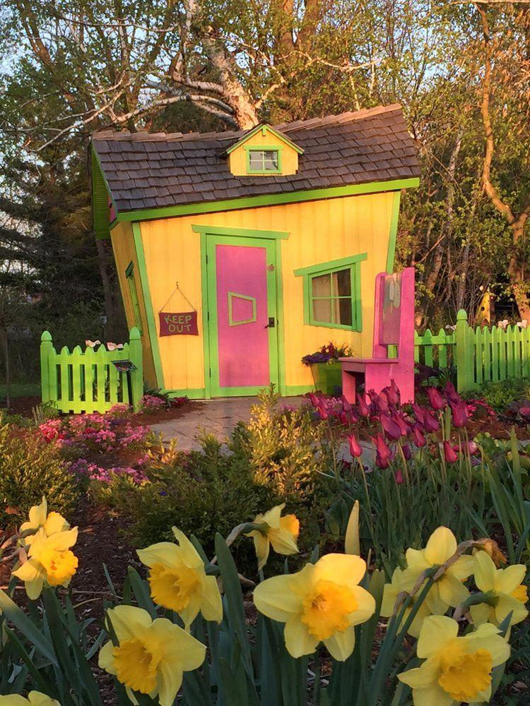 Bookworm Gardens is a 3.5 acre botanical garden themed