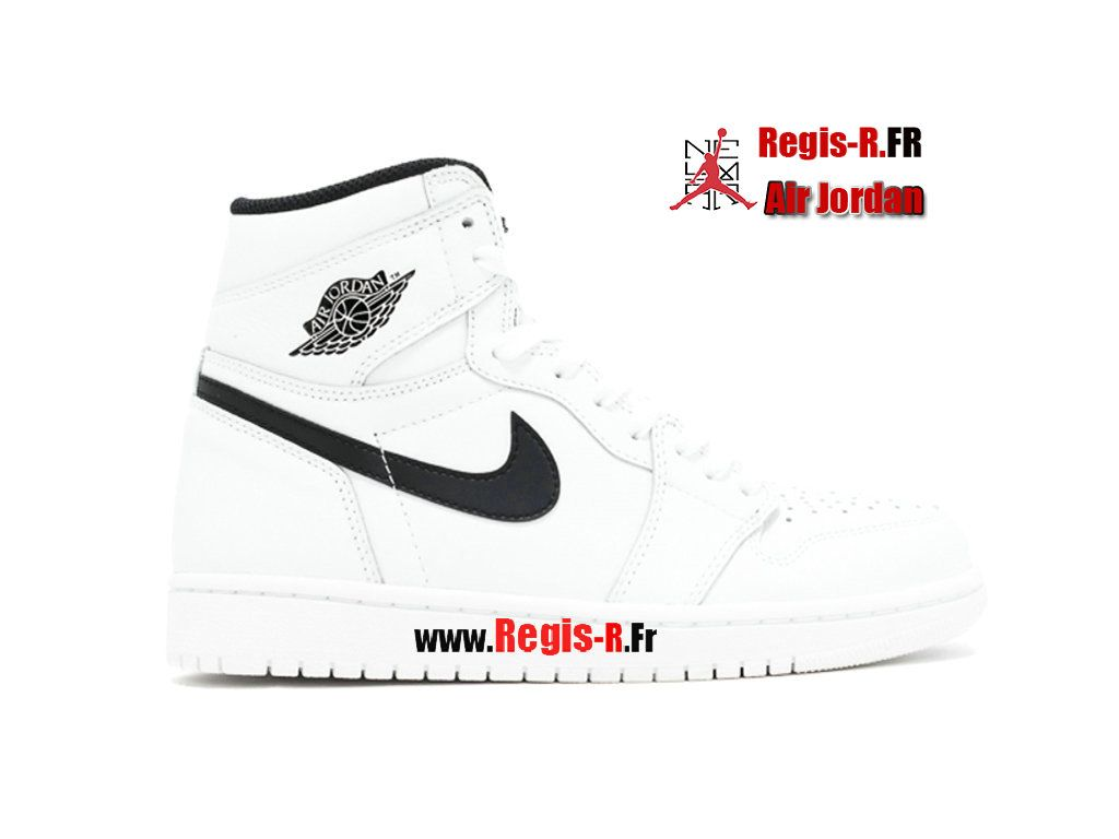 huge selection of fc6a3 14297 Air Jordan 1 Retro High OG PS - Chaussures Basket Jordan Pas Cher Pour  Enfant White