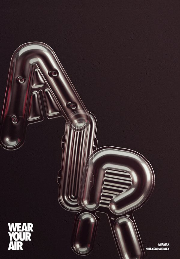 NIKE AIR MAX DAY on Behance | L-Typography | Pinterest | Air max, Behance  and Ads