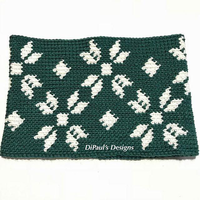 Nordic Snowflake Cowl | Knitting&Crochet | Pinterest