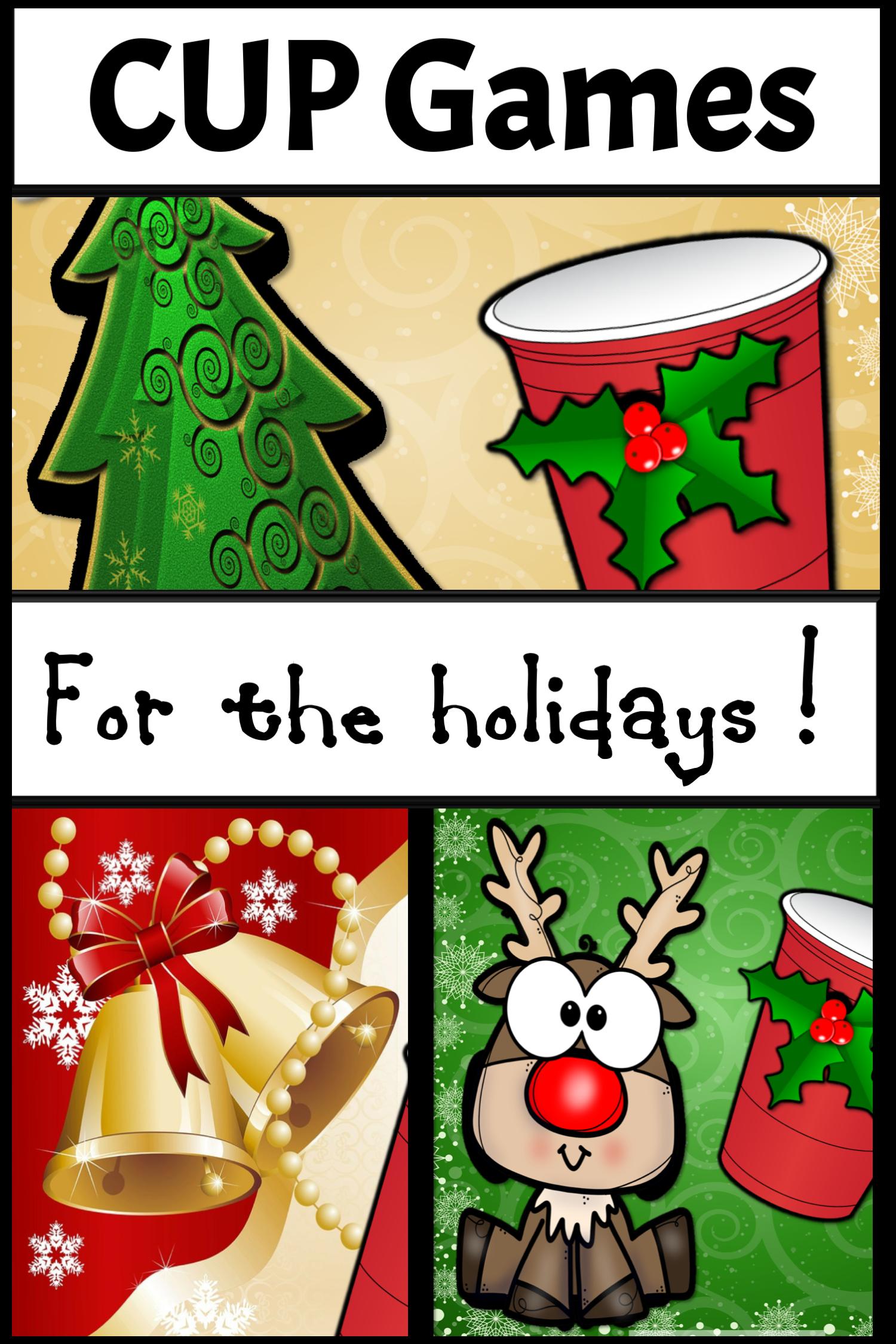 Christmas Music Games Christmas Cup Game Rhythm Activity