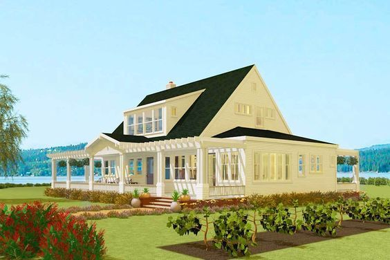 Plan 490011rsk California Farmhouse Country Style House Plans Family House Plans Farmhouse Plans