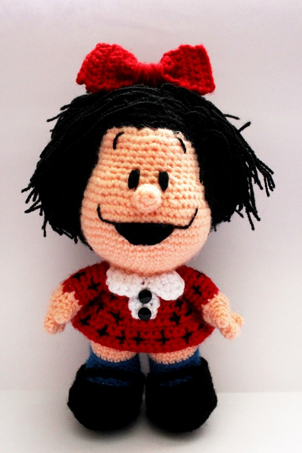 Mafalda (3)   crochet   Pinterest   Mafalda, Patrones amigurumi y ...