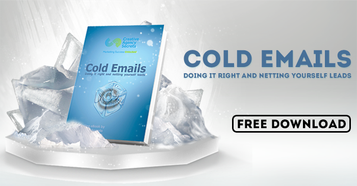 "Free Ebook ""Cold Emails Doing it right and netting"