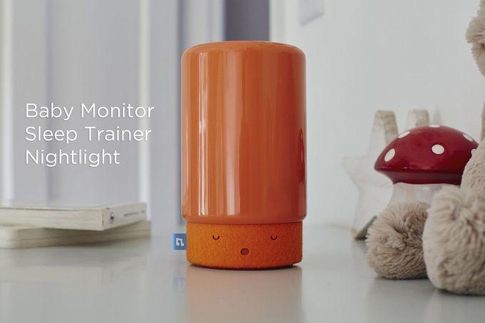 Babyzimmer Nightlight ~ Suzy snooze smart baby monitor sleep trainer nightlight by