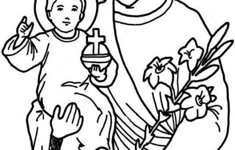 religious education coloring pages - photo#14