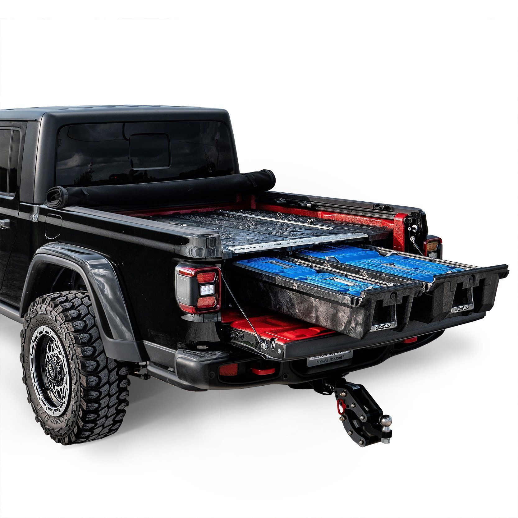 Decked Drawer System Jeep Gladiator Jeep Gladiator Tonneau Cover Deck Systems