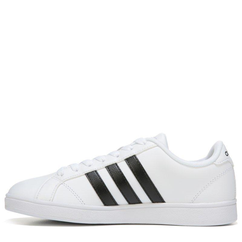 adidas donne neo - basale (bianco / nero) scarpe moda queens