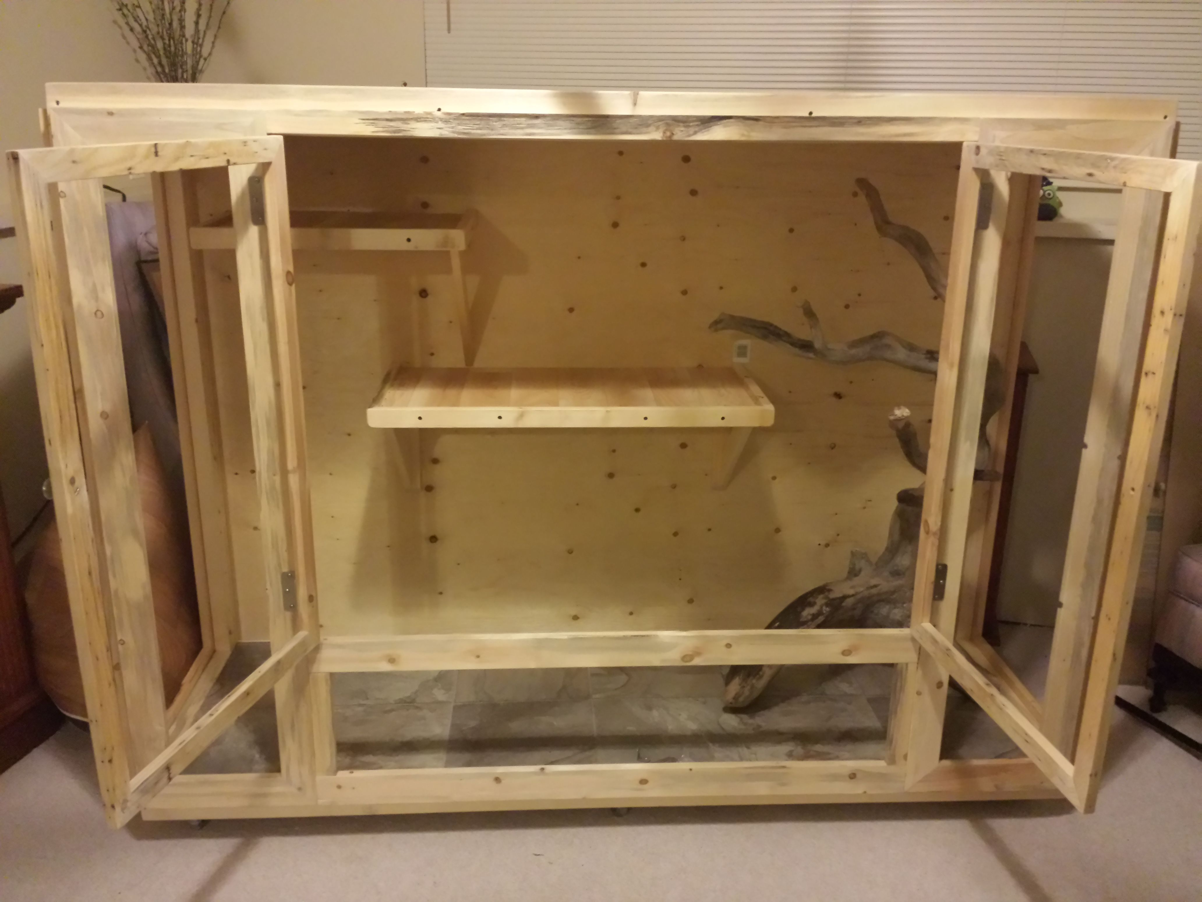 Custom Build Large Boa Enclosure Reptiles Fish Pets Reptile