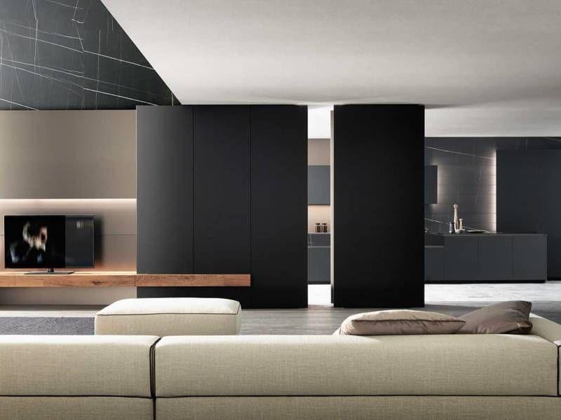 Un Appartement Veloute Entre Design Italien Et Scandinave En 2020 Design Lounge Design Moderne Interieur De Maison Design Hall