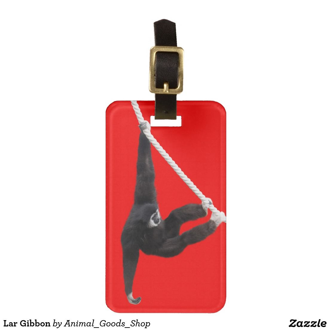 Lar Gibbon Tag For Luggage