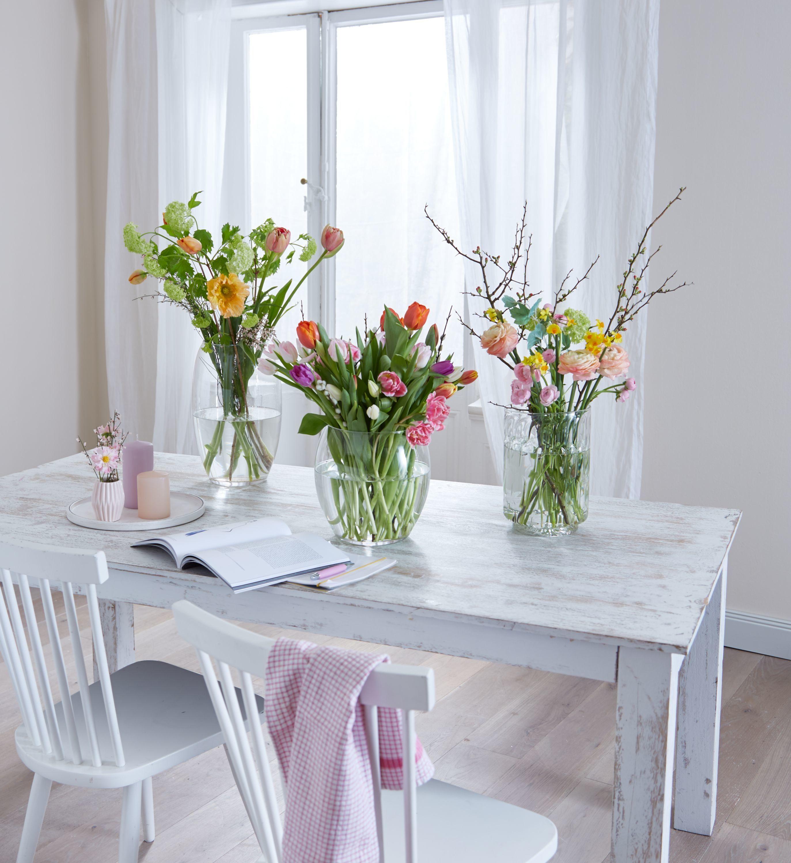 Fruhlingshafte Tischdekoration Spring Decoration Fruhling