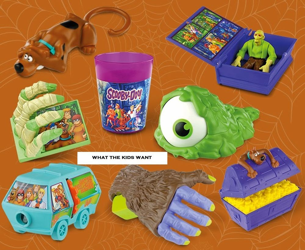 Toys From Mcdonald S Happy Meals : Mcdonalds happy meal toys scooby doo mcdonald