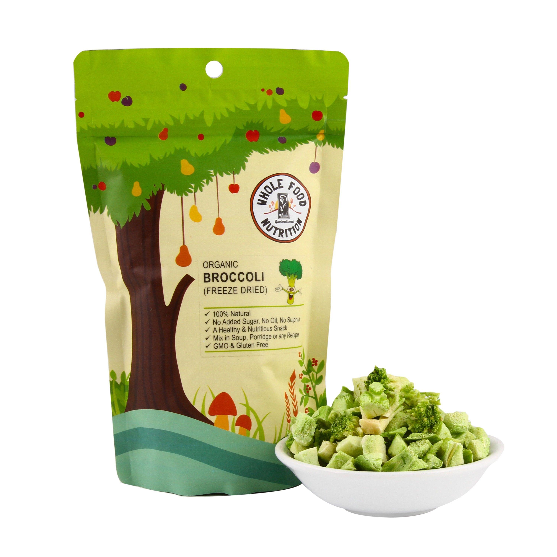 Broccoli, freeze dried  (Organic) - 30gm