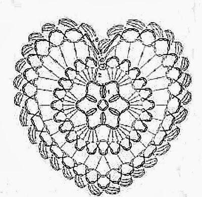 Patterns and motifs: Crocheted motif no. 630 #crochetmotif